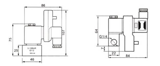 16bar opt electrical timer auto drainer g1  4 u201d g3  8 u201d g1  2