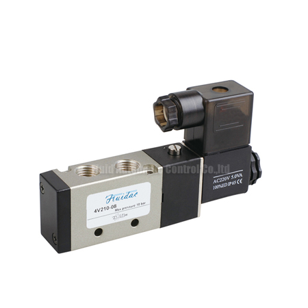 18~34mm 5/2 4V Pilot Operated Solenoid Valve